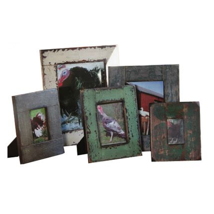 Set of 5 Wooden Picture Frames : High Camp Home - Interior Design and Home Furnishings - Truckee and Lake Tahoe California