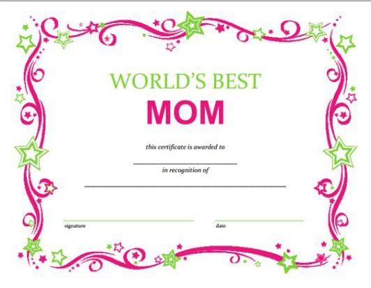 16 Mother S Day Gifts On A Budget For Moms That Deserve The World Society19 Gift Certificate Template Mother S Day Diy Diy Mother S Day Crafts