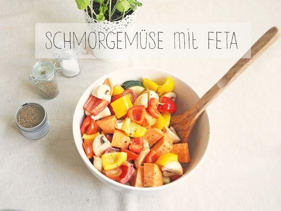 Rezept: Schmorgemüse mit Feta
