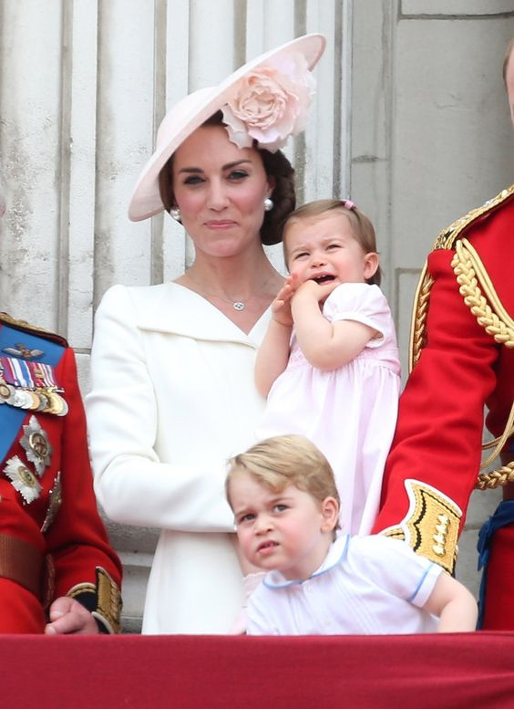 Pin for Later: Kate Middleton and Princess Charlotte's Matching Outfits Are So Darn Cute We Can Hardly Contain Ourselves It Matched Her Daughter Charlotte's Pink Dress