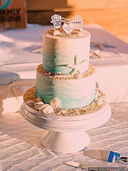 Beach Theme Wedding Cake Beach Chair Wedding Cake Topper Beach