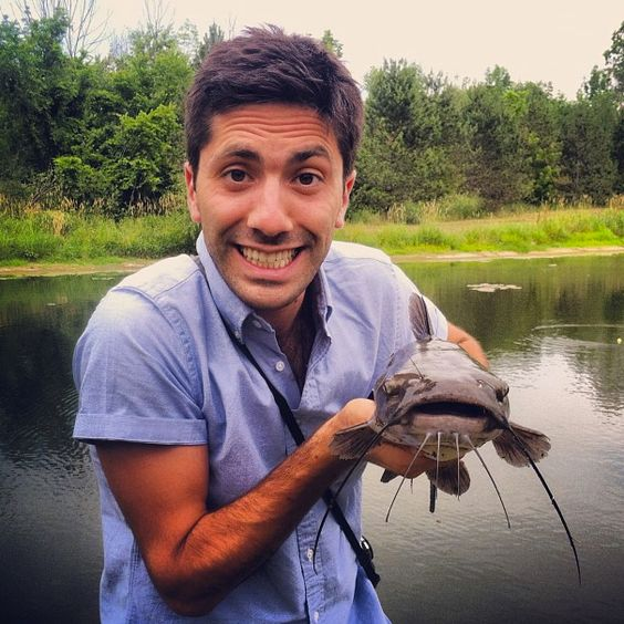 It makes me cringe so badly...but I just can't stop watching it!! (Nev Schulman from TV show Catfish.)