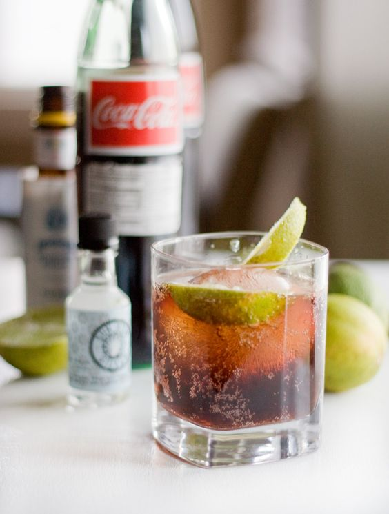 One perfect little addition turns a simple rum and Coke into a 3-ingredient Cuba Libre. Perfect. | PDX Food Love