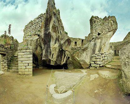 Temple of the Condor    The Temple of the Condor in Machu Picchu is a breathtaking example of Inca stonemasonry