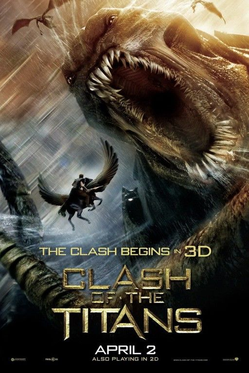 Bb Clash Of The Titans 2010 Wrath Of The Titans Clash Of The Titans Best Movie Posters