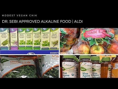Dr Sebi Approved Alkaline Foods At Aldi Vegan Electric Cell