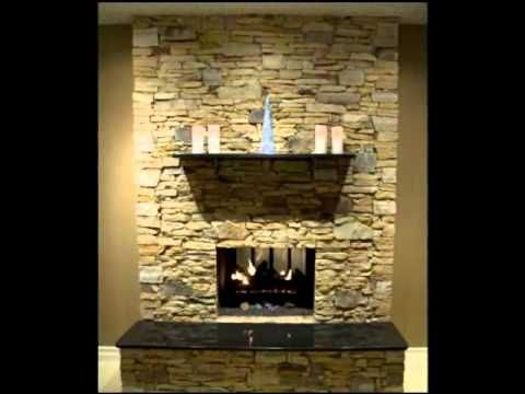 Watch as an old brick fireplace is transformed into a