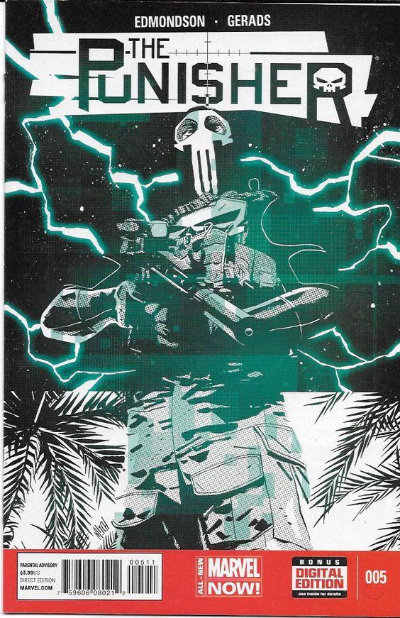 Punisher # 5 Marvel Now !