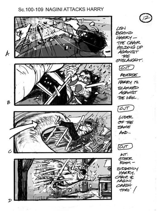 Harry Potter And The Deathly Hallows   Storyboard
