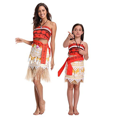 Moana Disney Princess Womens Fancy Dress Costume Licensed Outfit
