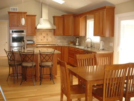 Images of kitchens with vaulted ceilings kitchen for Cathedral ceiling kitchen designs