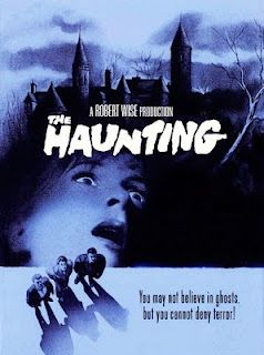 (1963) It starred Julie Harris, Claire Bloom, Richard Johnson & Russ Tamblyn. You've seen haunted house movies before, but the acting here is excellent, the story is layered and the atmosphere is genuinely unnerving. With only a few fancy (for the era) special effects, this movie uses your own imagination to get to you.  It's the blueprint for ghost movies that followed. The remake was all about Fx. This is about your fear.