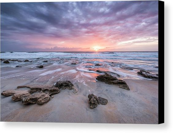Beach Canvas Print featuring the photograph Glorious In St. Augustine by Jon Glaser