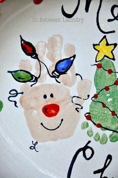 reindeer hands and Christmas tree feet- Christmas Gifts!