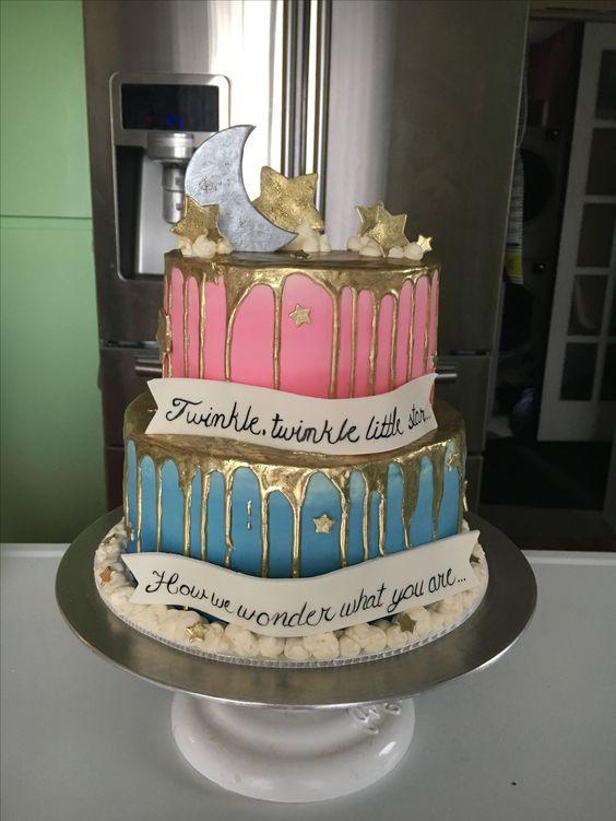 Geliefde Gender reveal ideeën; van pinata, taart of cupcake, ballon @KH23