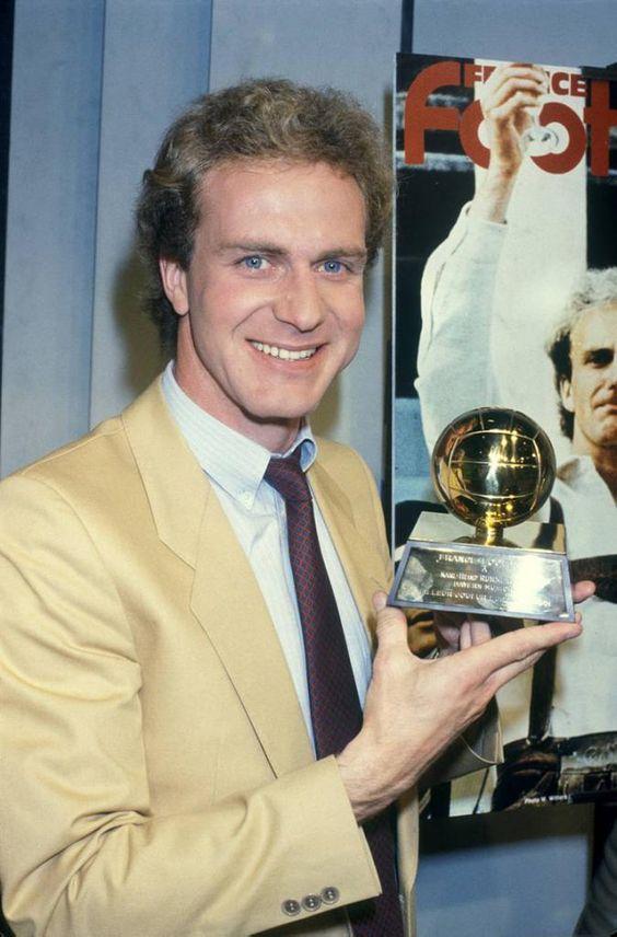 Karl-Heinz Rummenigge (1981, Bayern Munchen, Germany)