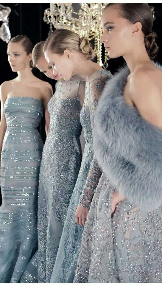 Backstage Elie Saab Fall 2014 Couture