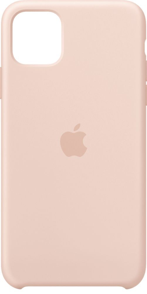 Apple Iphone 11 Pro Max Silicone Case Pink Sand Mwyy2zm A Best Buy In 2021 Iphone Leather Case Apple Iphone Silicon Case