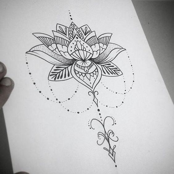 tatuagem de mandala feminina significado pesquisa google tattoos pinterest mandalas. Black Bedroom Furniture Sets. Home Design Ideas