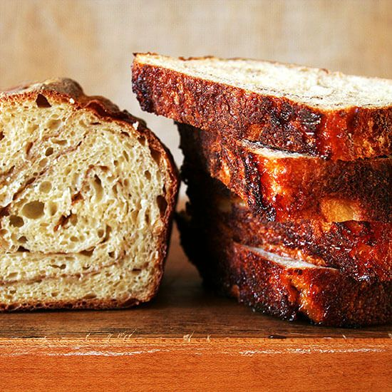 Cinnamon Raisin Swirl Bread Alexandra S Kitchen Recipe Cinnamon Raisin Bread Cinnamon Raisin Raisin Bread
