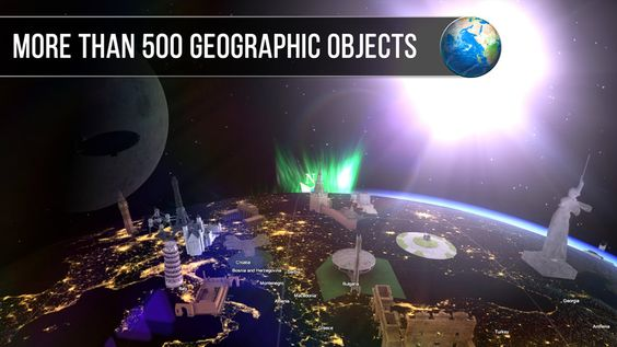 Free App: Amazon.com: Globe Geography 3D VR: Appstore for Android