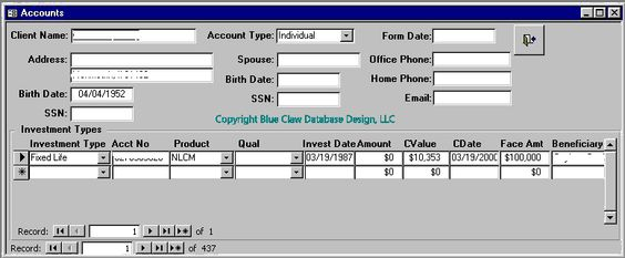 Stock  Bond Trading Management Database Software Created Using