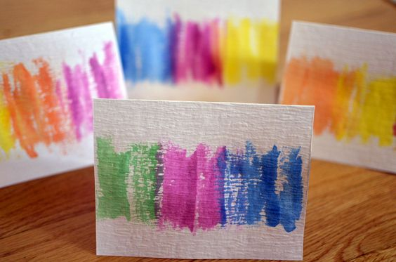 Make your own watercolor cards