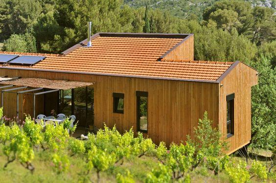 bardage en bois douglas par piveteau bois wood house. Black Bedroom Furniture Sets. Home Design Ideas
