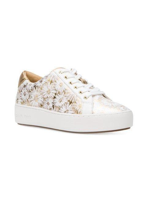 michael kors flower sneakers