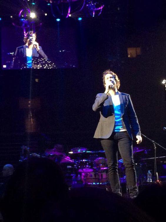 Josh Groban - Energy Solutions Arena - Salt Lake City, UT on 10/11/2013 - 239 photos, pictures and videos on Crowd Album