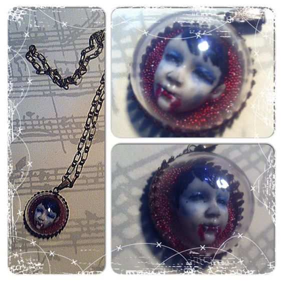 Vampire Dream necklace by TheDreamsFactory on Etsy