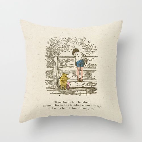 Winnie the Pooh & Friends Throw Pillow by Zeke Tucker | Society6