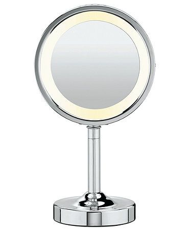 Conair, 5x Magnified Lighted Makeup Mirror Chrome finish, Models and Shops