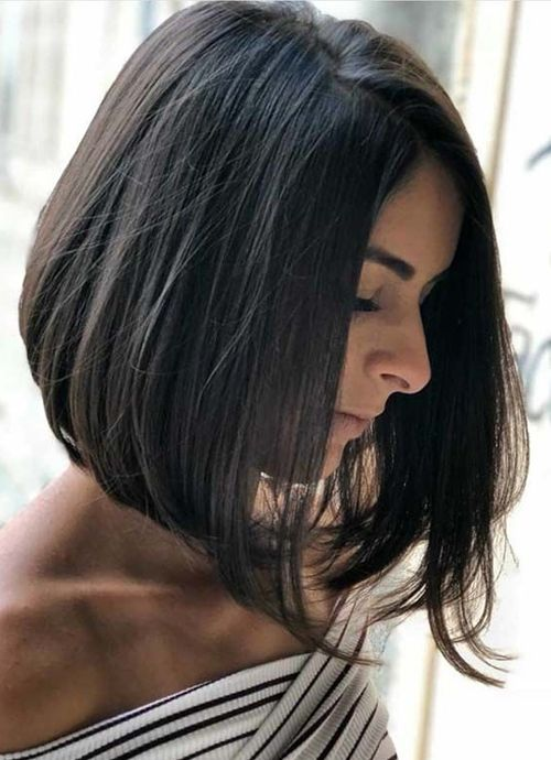 21 Of The Cool And Trendy Inverted Bob Hairstyles 2019 For Women To Reach Perfection Trendy Hairstyles Medium Hair Styles Hair Styles Bob Hairstyles