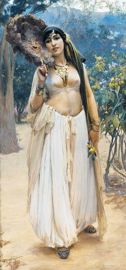 Summer Evening by Frederick Arthur Bridgeman