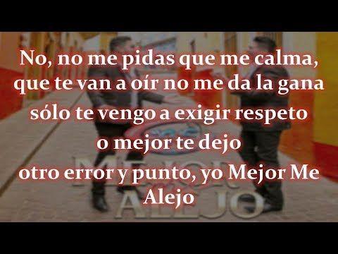 Banda Ms Mejor Me Alejo Letra Estreno 2018 Estudio Audio Oficial Youtube Youtube Songs Love Of My Life