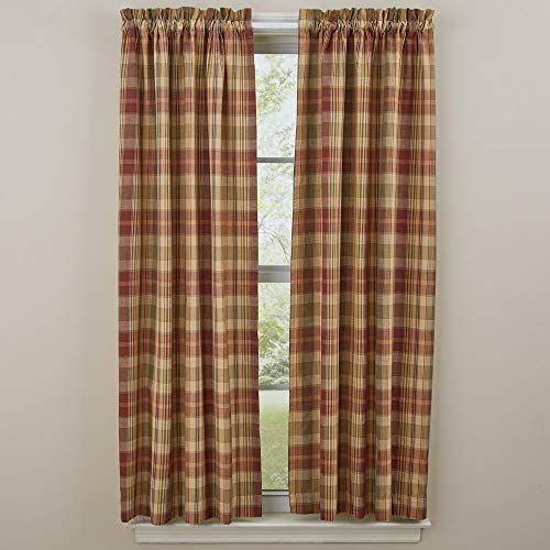 Park Designs Saffron Unlined Panel Pair In 2020 Curtains Cool Curtains Park Designs