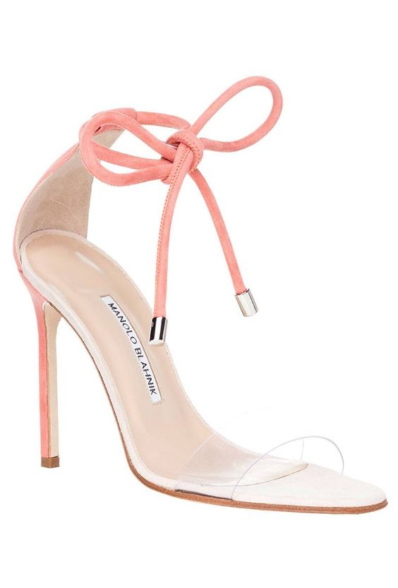 Manolo Blahnik Spring 2016 sandal.