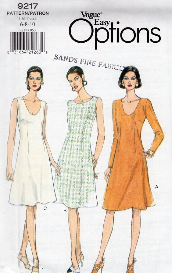 90s Misses Shirt Sewing Pattern Vogue Sport 8913, Loose Fit Womens ...