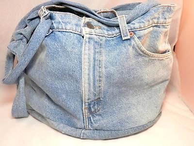 Vintage Levis Jeans Tote Bag from #LadyLindasLoft. Great retro accessory!