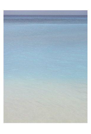 Bleu, No. 2 Kunstdruck
