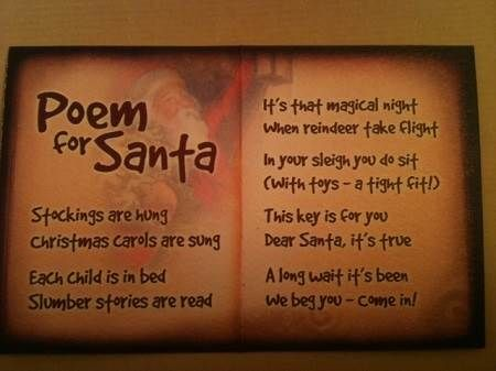 Santa Christmas Poems for Kids, Children, Seniors to ...