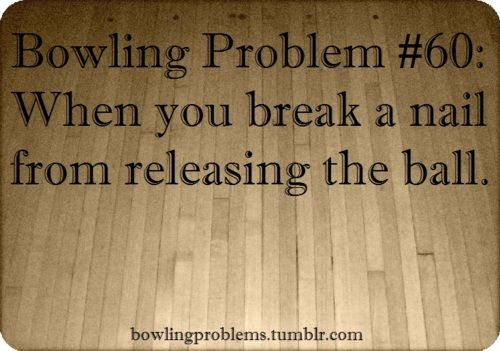 Bowling Problems. #bowling #humor