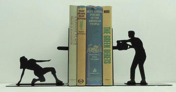 Quero um desses pra organizar meus livros \o