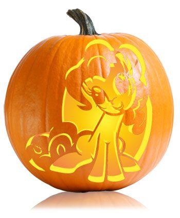 Pinkie Pie Pumpkin Stencil And Stencils On Pinterest