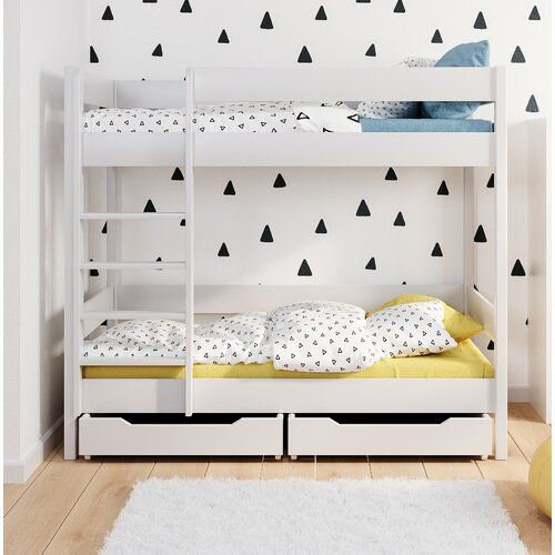 Sheppard Bunk Bed With Drawers Isabelle Max Size Cot Bed