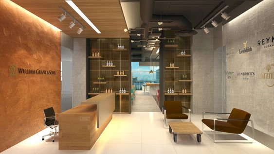 William Grant & Sons, Singapore, Office Design Proposal by Kelvin & Frank Reid