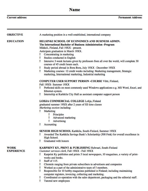 Resume Example For Building Maintenance - http\/\/resumesdesign - grocery clerk sample resume