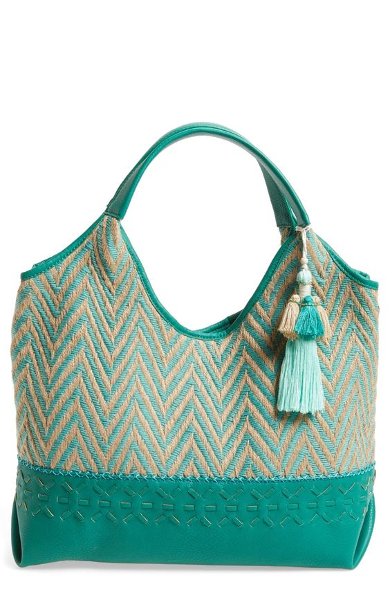 Steven by Steve Madden Chevron Tote available at #Nordstrom