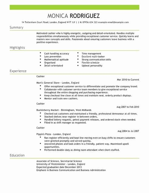 Inspirational Sales Cv Templates Sales Resume Examples Resume Objective Sample Resume Examples